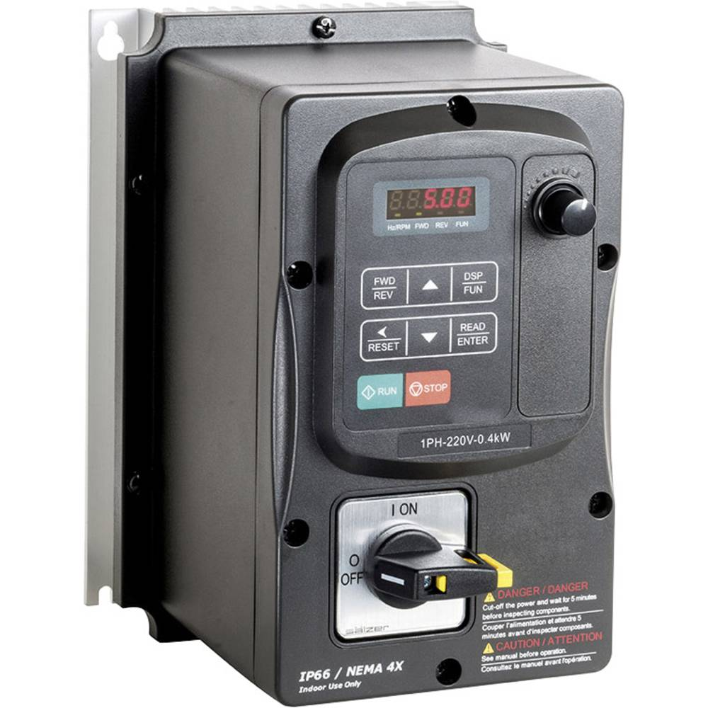 Ispravljač frekvencije FUS 075 E5 IP66 2T101.23075 Peter Electronic 1-fazni 200 - 240 V 0.75 kW