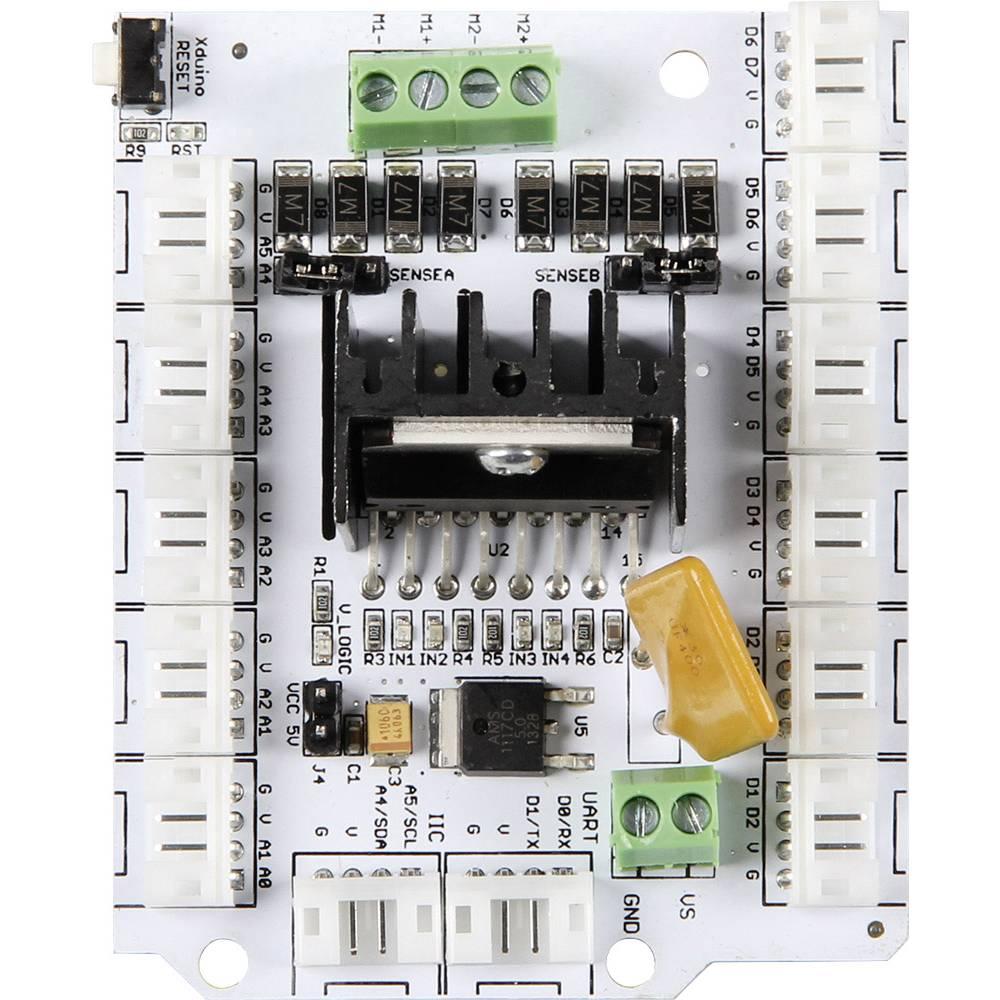 Shield Motorsteuerung Passar till: Arduino, pcDuino, Arduino UNO