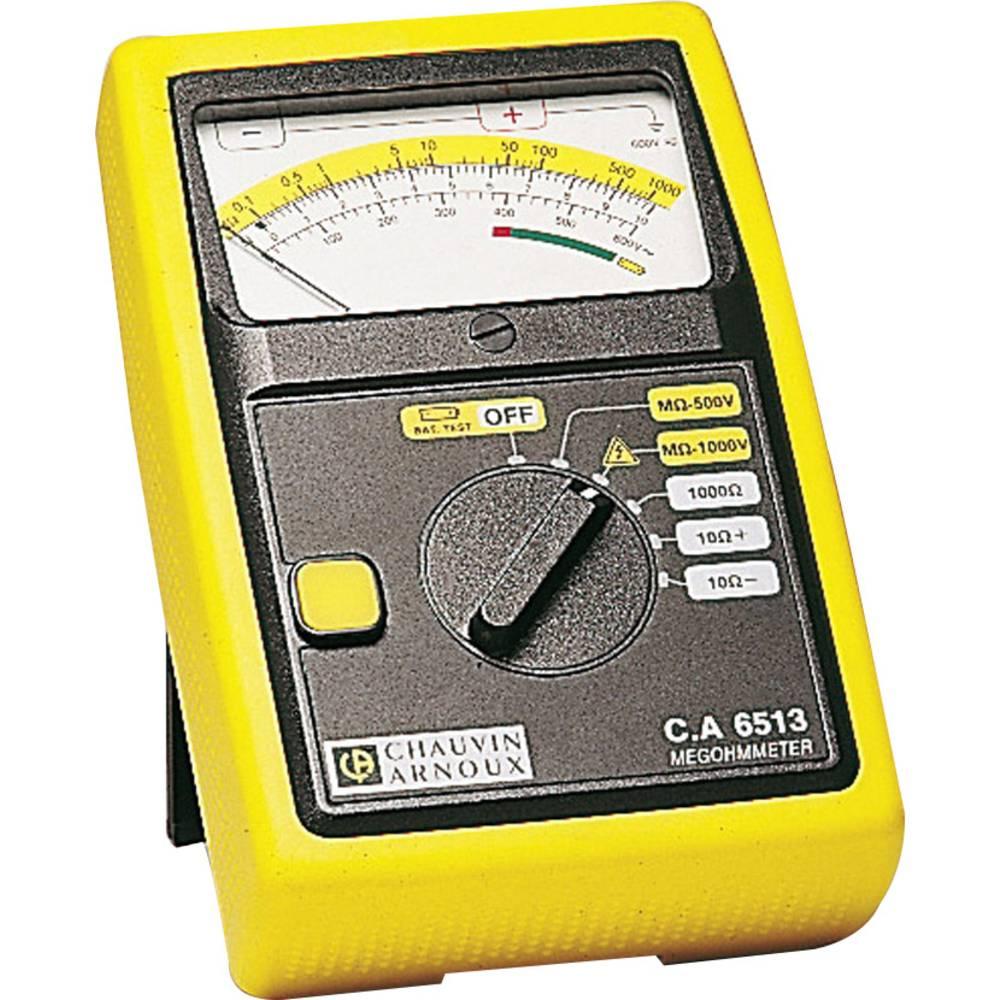 Chauvin Arnoux C.A 6513 uređaj za mjerenje izolacije 500, 1000 V 0 - 1 G kalibrirano prema ISO standardu