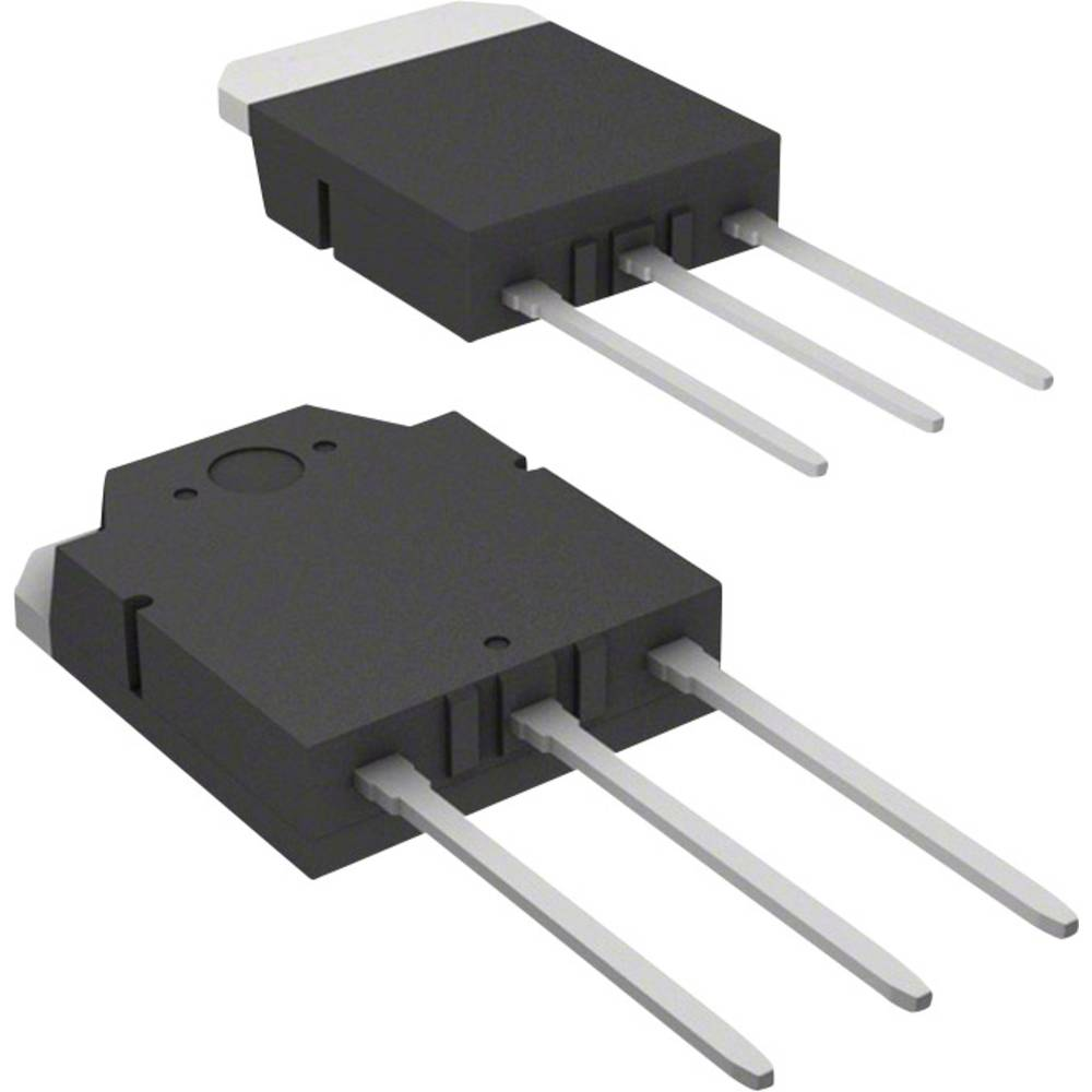 Schottky dioda Array - usmernik 30 A Vishay MBR3045PT-E3/45 TO-3P-3 Array - 1 par skupna katoda