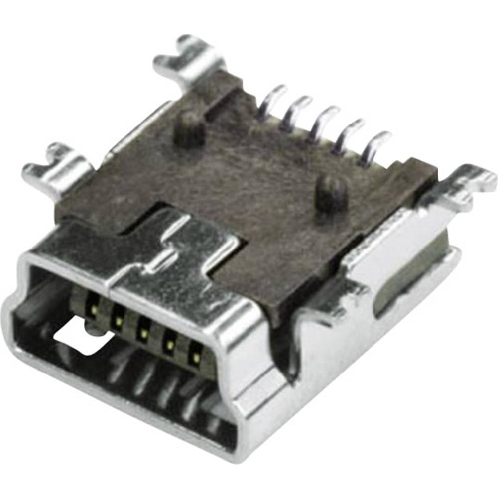 Vgradna vtičnica Mini USB vtičnica, vgradna, horizontalna MUB2B5SMD econ connect vsebuje: 1 kos
