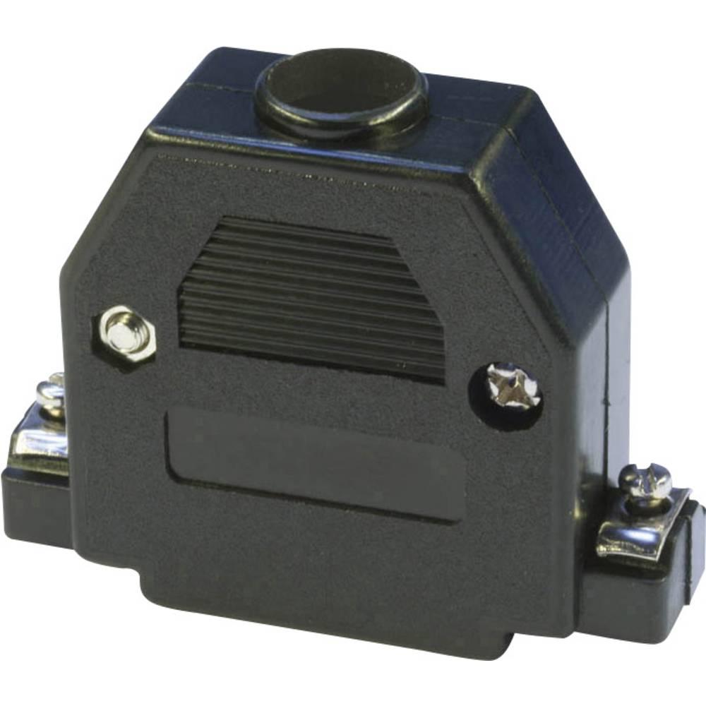 D-SUB ohišje, število polov: 25 iz umetne mase 180 ° črne barve econ connect PH25SW 1 kos