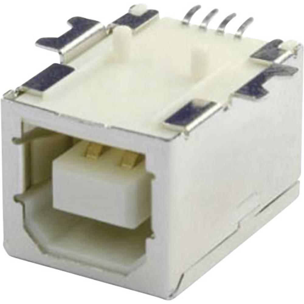 Vgradna vtičnica USB-B SMD 90G vtičnica, vgradna, horizontalna UBU1BSMD econ connect vsebuje: 1 kos