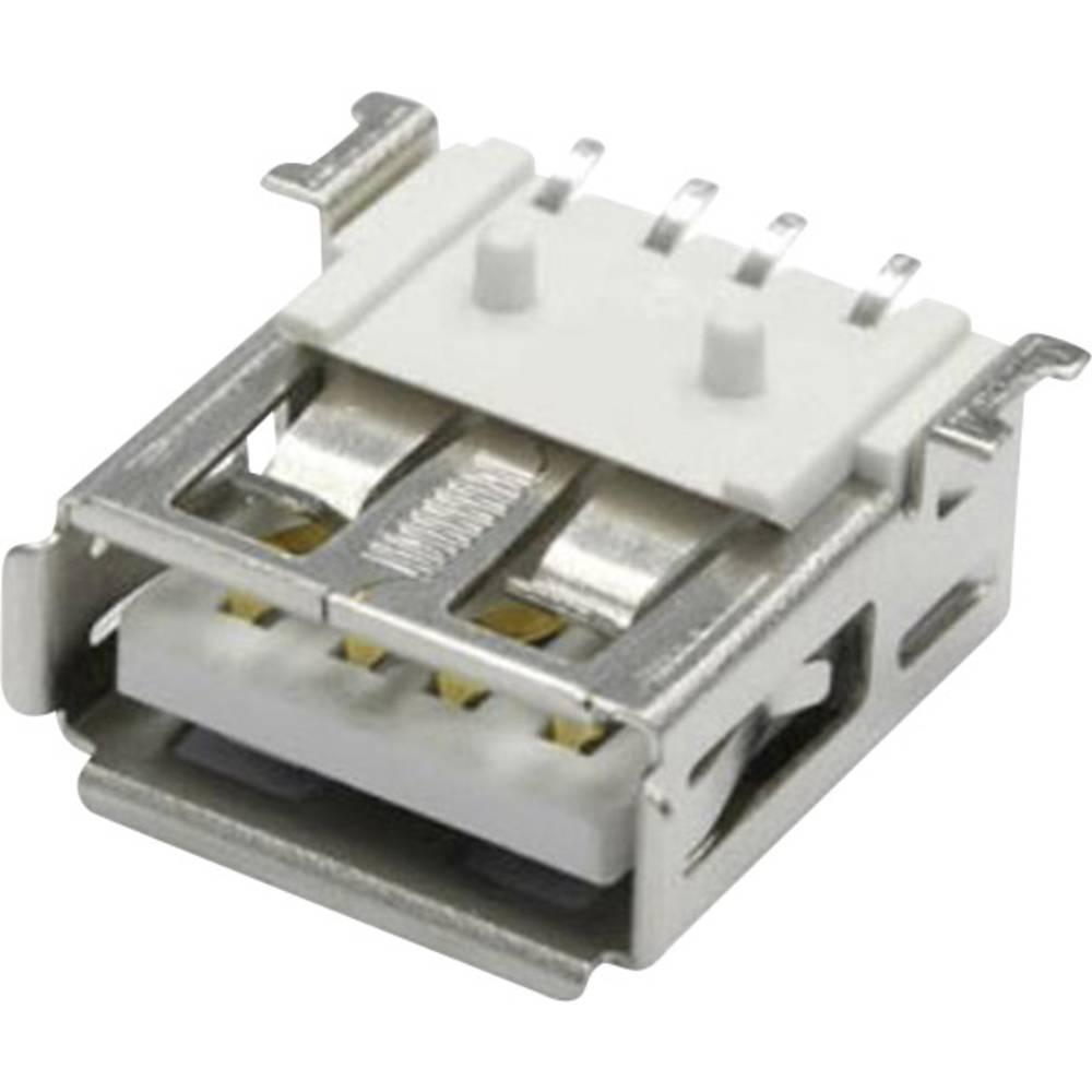 Vgradna vtičnica USB-A SMD 90G vtičnica, vgradna, horizontalna UBU2AWS econ connect vsebuje: 1 kos