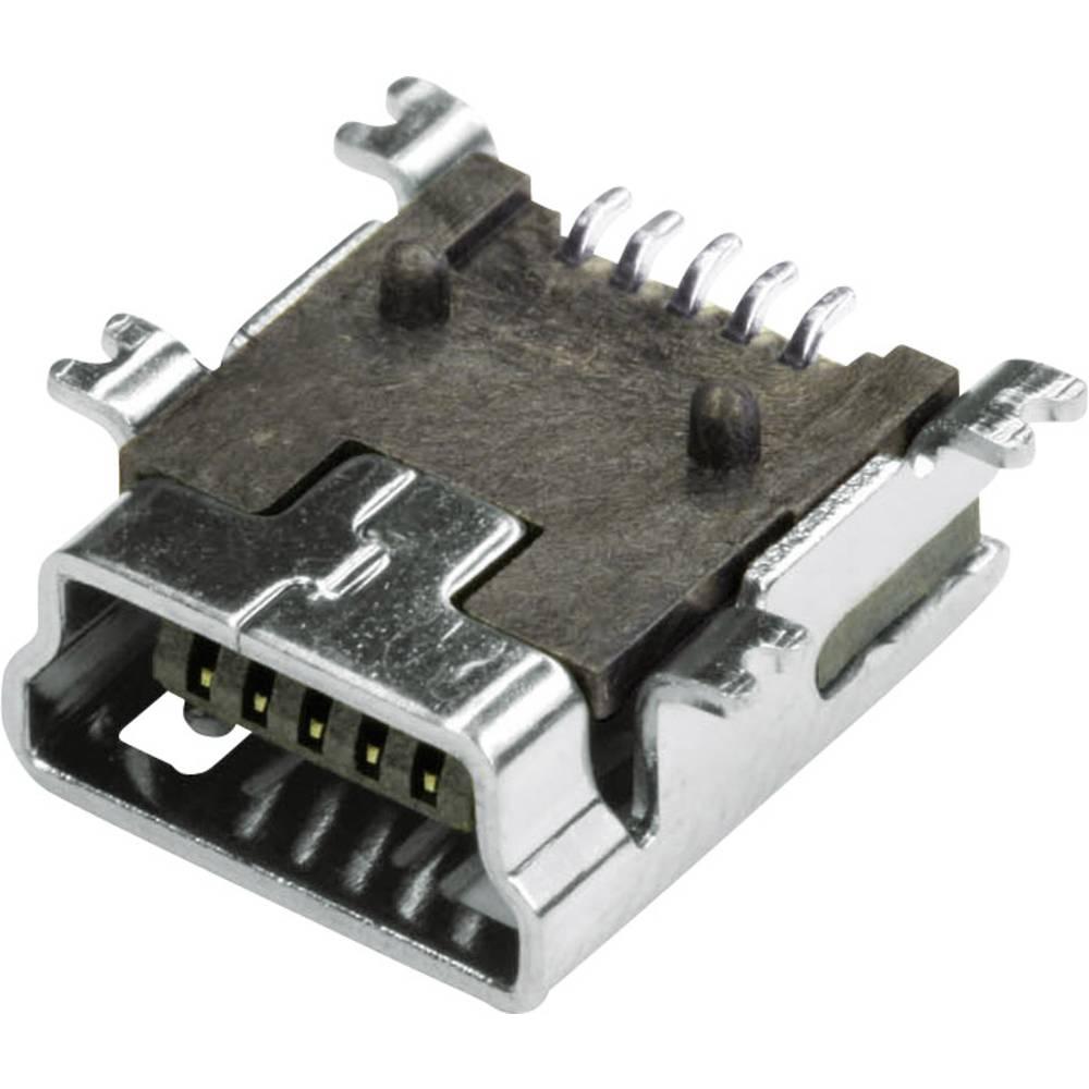 econ connect MUB1B5SMD USB 2.0 Sort 1 stk