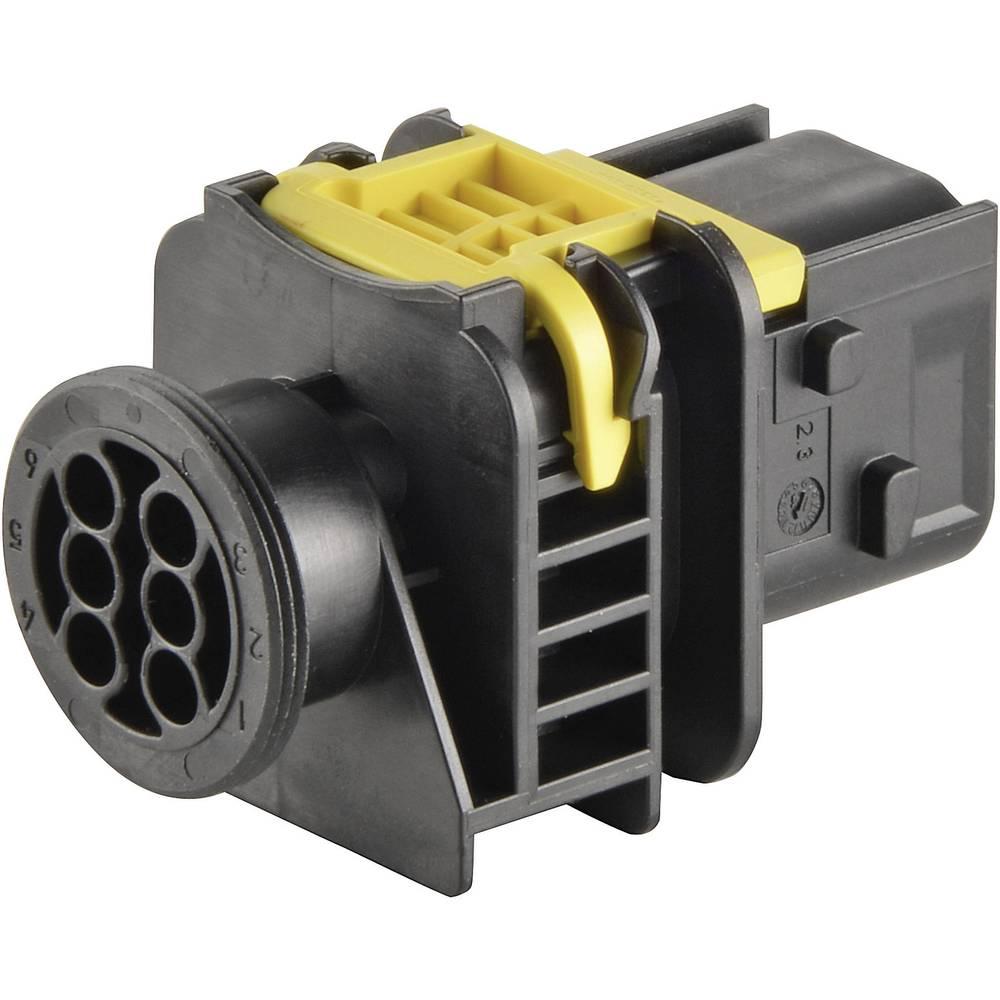 Tilslutningskabinet-printplade HDSCS, MCP (value.1360522) Samlet antal poler 8 TE Connectivity 1-1564512-1 1 stk