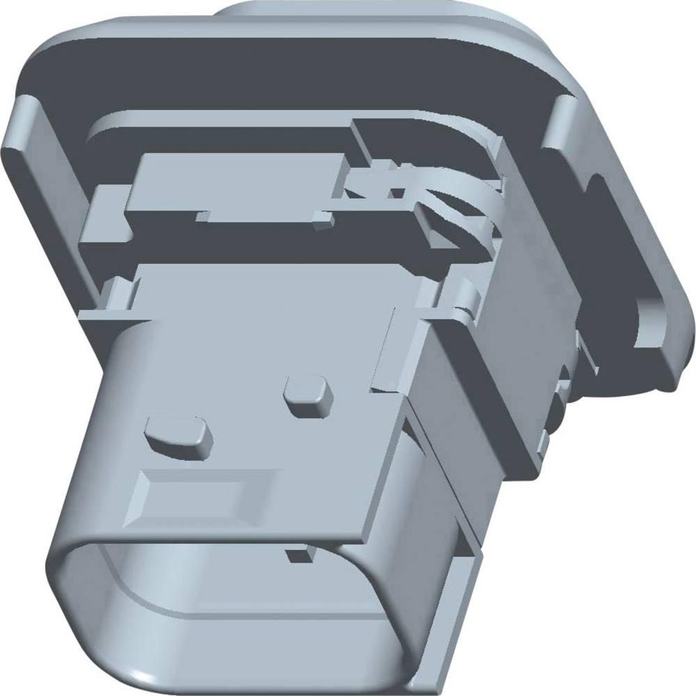 Tilslutningskabinet-printplade HDSCS, MCP Samlet antal poler 6 TE Connectivity 1-1670214-1 1 stk