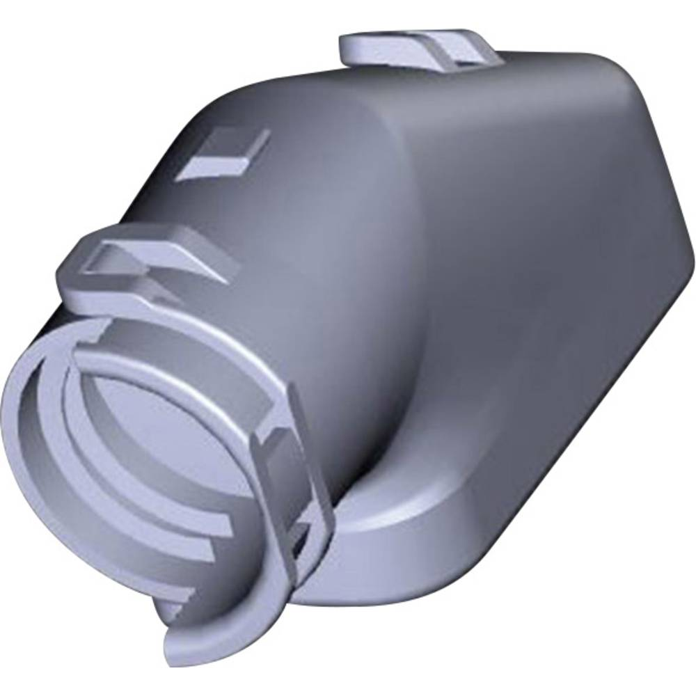 Cap vinklet for mandlige & Tab Housing D TE Connectivity HDSCS, MCP 1 stk