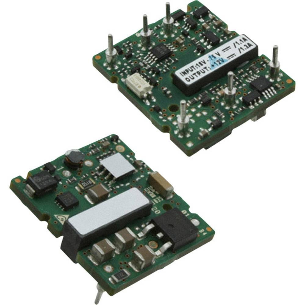 DC/DC pretvornik za tiskano vezje Delta Electronics S36SE12001NRFB 12 V/DC 1.3 A 17 W št. izhodov: 1 x