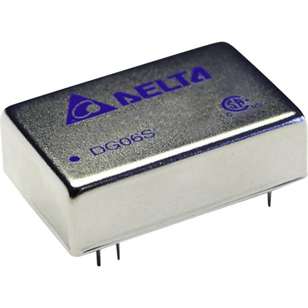 DC/DC pretvornik za tiskano vezje Delta Electronics DG06D2415A 15 V/DC, -15 V/DC 200 mA 6 W št. izhodov: 2 x