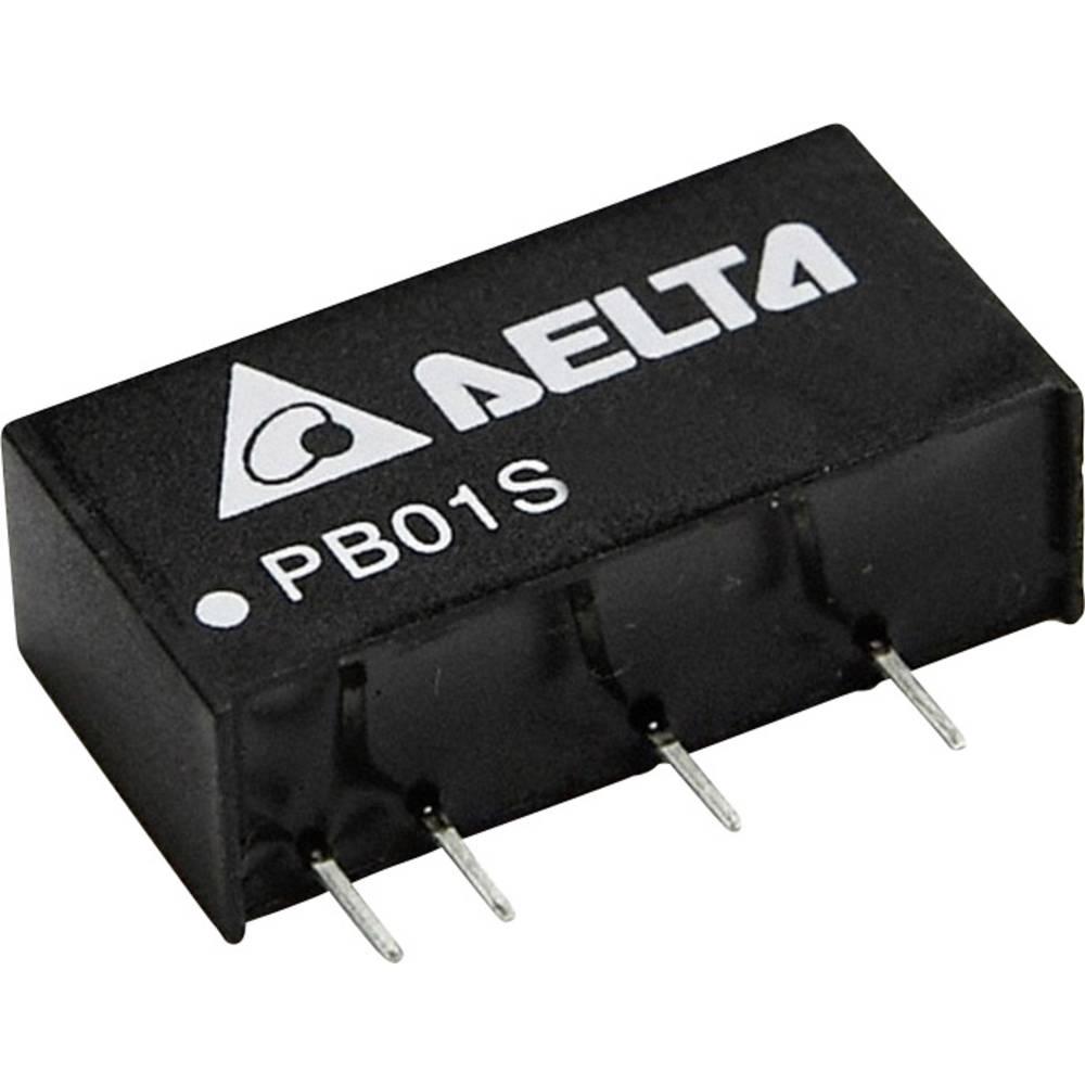DC/DC pretvornik za tiskano vezje Delta Electronics PB01D2415A 15 V/DC, -15 V/DC 34 mA 1 W št. izhodov: 2 x