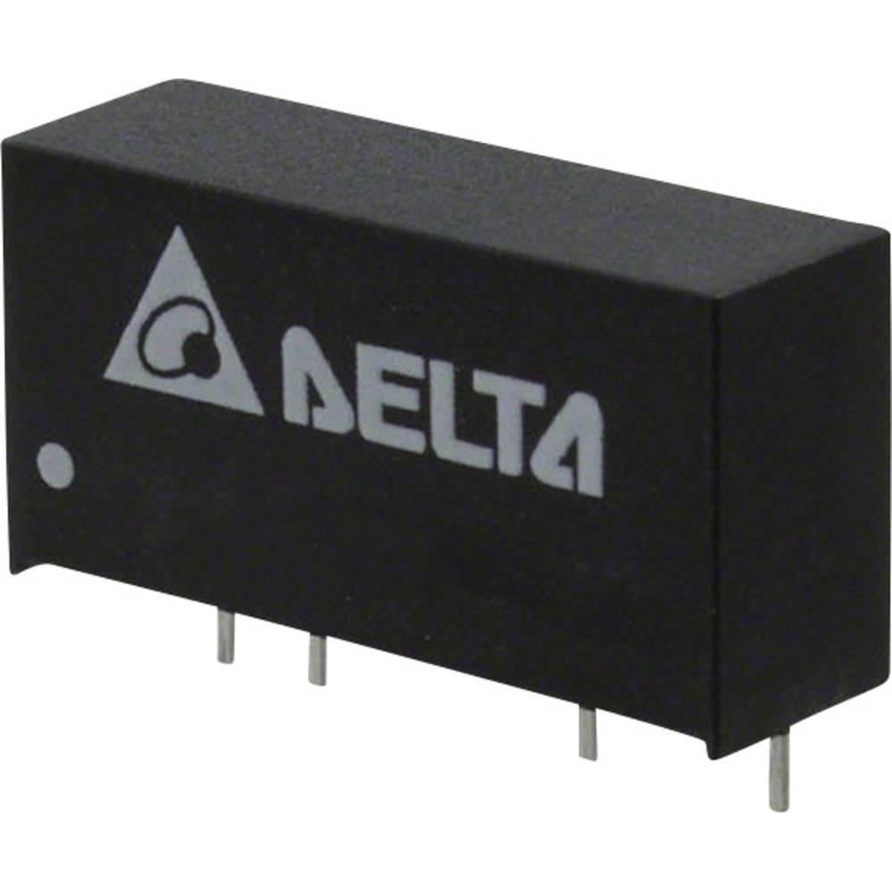 DC/DC pretvornik za tiskano vezje Delta Electronics PD01S2412A 12 V/DC 84 mA 1 W št. izhodov: 1 x