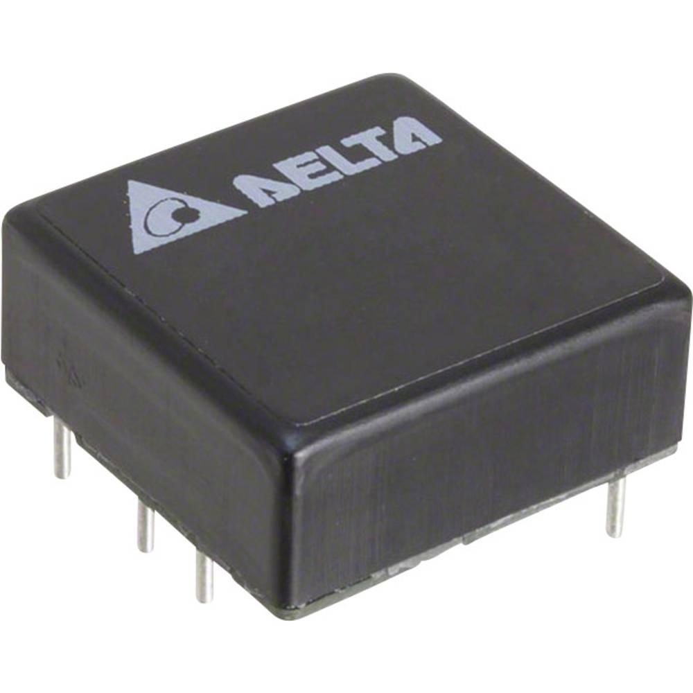 DC/DC pretvornik za tiskano vezje Delta Electronics S24SE15001PDFA 15 V/DC 1.33 A 20 W št. izhodov: 1 x