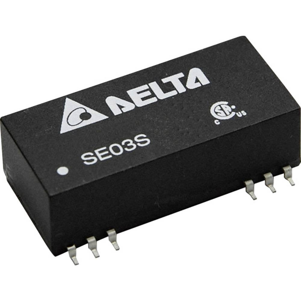 DC/DC pretvornik SMD Delta Electronics SE03D4812A 12 V/DC, -12 V/DC 125 mA 3 W št. izhodov: 2 x