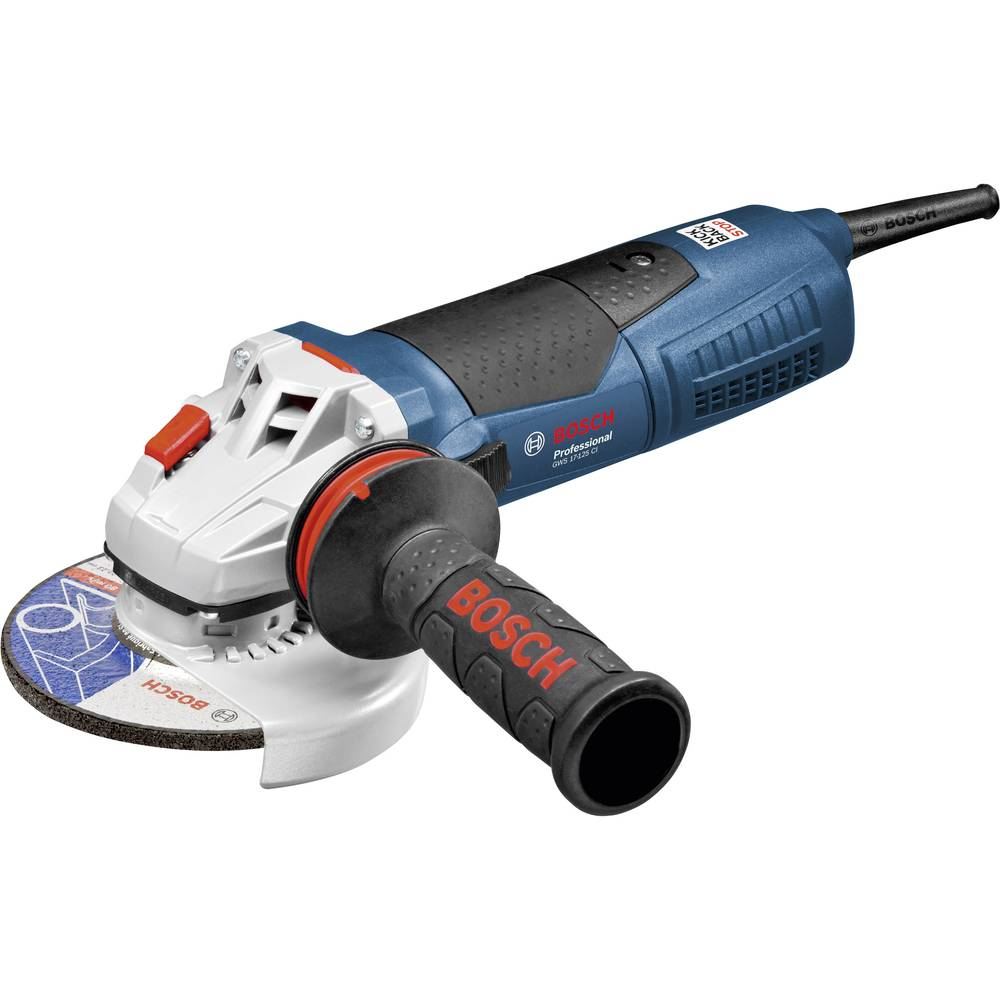 Kotni brusilnik 125 mm 1700 W Bosch Professional GWS 17-125 CI 060179G006