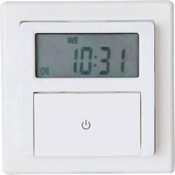 Podometna digitalna časovna stikalna ura GAO, tedenski program, 1800 W, IP20, funkcija odštevanja časa, programiranja in naključ