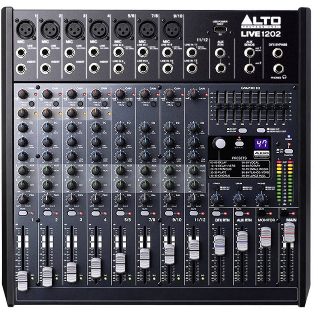 Mešalna miza Alto Live 1202