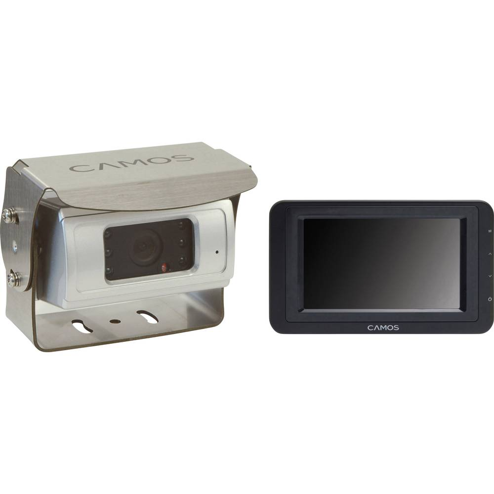 Kabel-Rückfahrvideosystem (value.1288609) Camos SV-430 Superview Opbygning