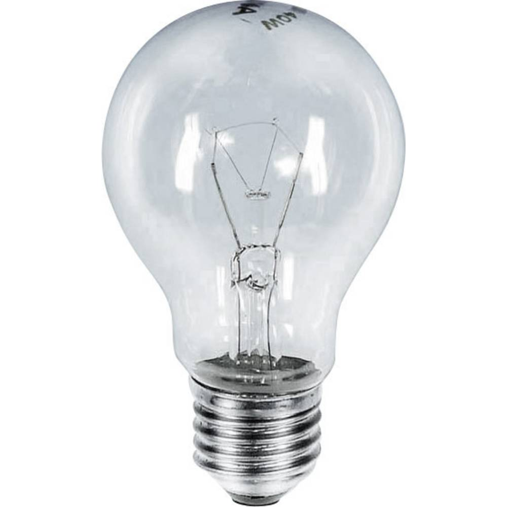 Žarnica Barthelme 230 V E27 60 W jasna EEK: E žarnica v obliki hruške vsebuje 1 kos