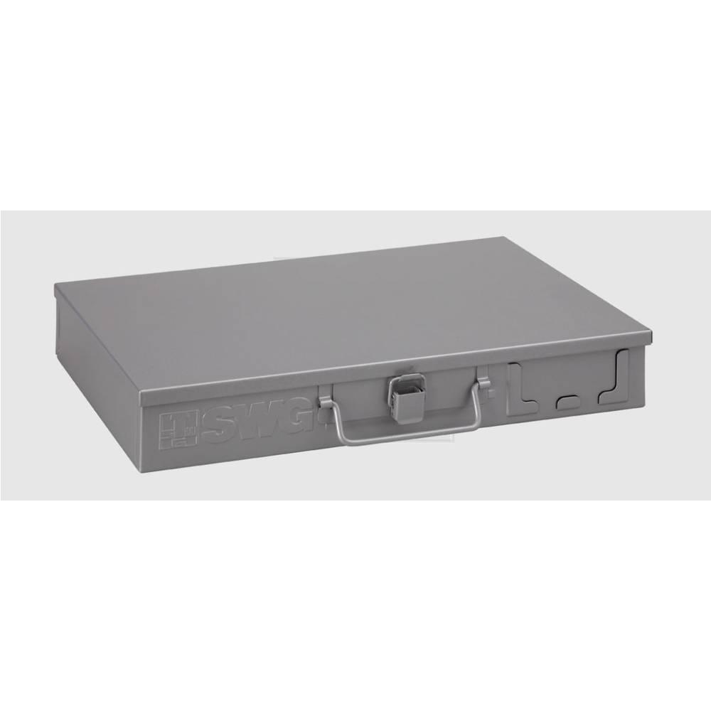 SWG sortirna kutija, sive boje (Š x V) 216 mm x 52 mm