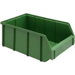 Prozirna kutija za skladištenje SWG veličina 2, 10.5 l, zelena, 335 mm x 209 mm x 152, mm