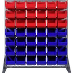 Zidni panel s fisnim kutijama Plava boja, Crvena SWG 1 ST