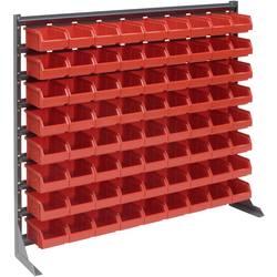 Zidni panel s fisnim kutijama (D x Š x V) 1020 x 200 x 900 mm Crvena SWG 1 ST
