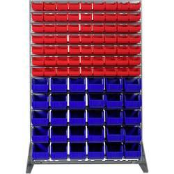 Zidni panel s fisnim kutijama (D x Š x V) 1120 x 470 x 440 mm Crvena, Plava boja SWG 1 ST