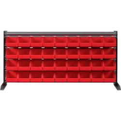 Zidni panel s fisnim kutijama (D x Š x V) 1020 x 200 x 480 mm Crvena SWG 1 ST