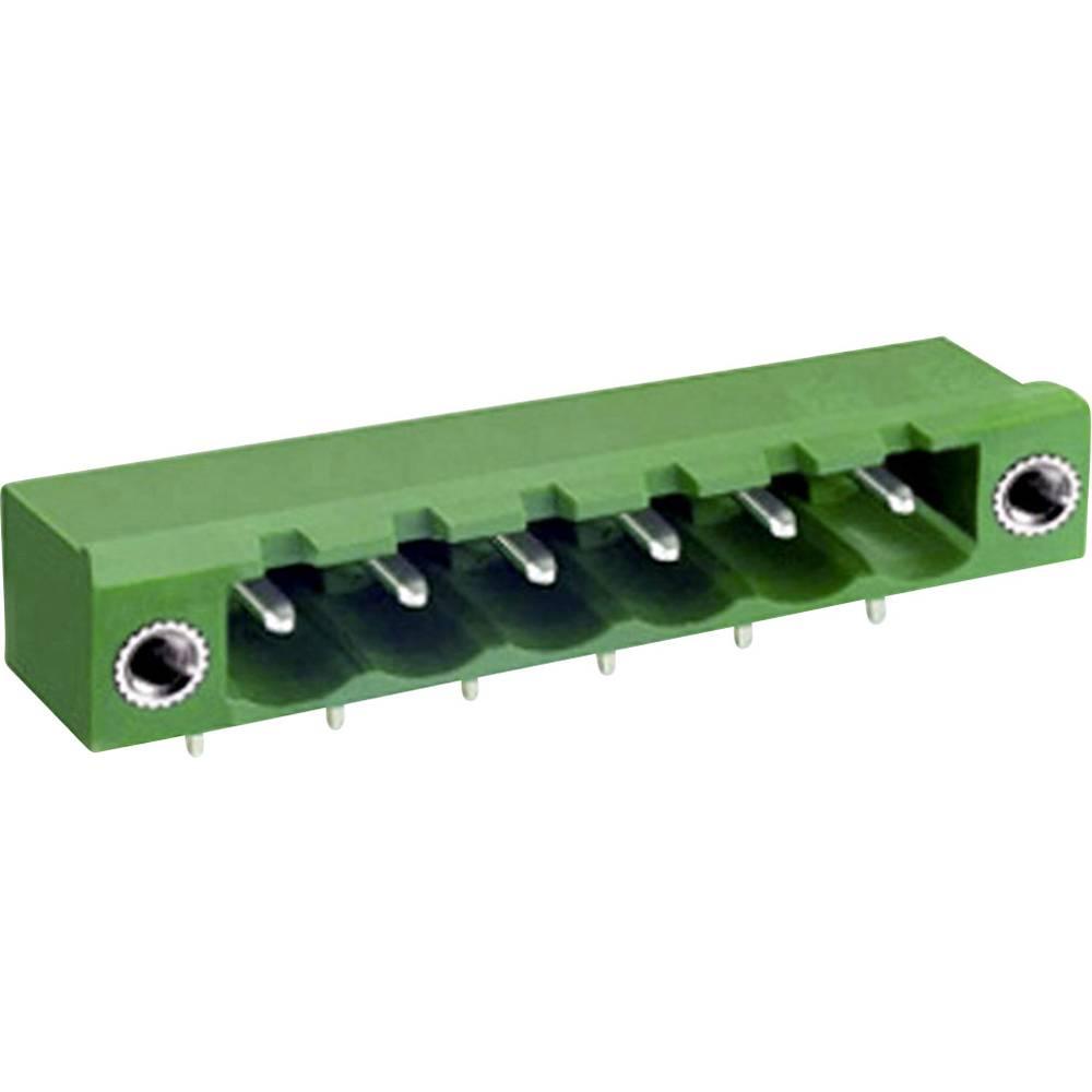 Osnovno pinsko ohišje, horizontalno z vijačno pritrditvijo mere: 5 mm število polov: 9 zelene barve DECA ME050-50009 vsebuje: 1