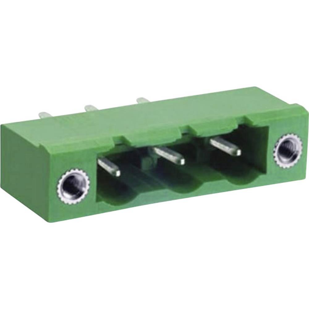 Pinsko ohišje za tiskana vezja DECA ME060-76211 mere: 7.62 mm 1 kos