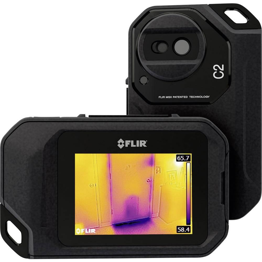 Termovizijska kamera FLIR C2 -10 do 150 °C 80 x 60 pikslov 9 Hz kalibrirana po DAkkS standardu