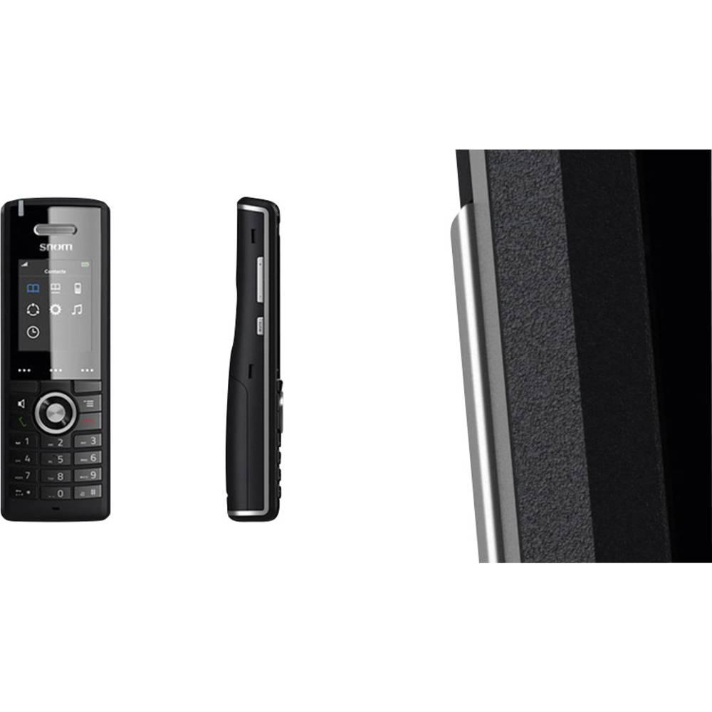 SNOM M65 DECT telefonska slušalka Črna