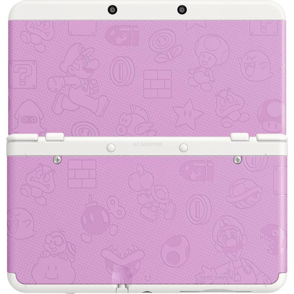 Okrasne ploščice za Nintendo New 3DS 011 Mario World roza