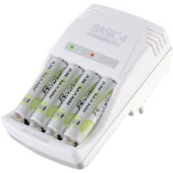 Ansmann Vtična polnilna naprava Basic 4 plus 5107343 Basic 4 plus