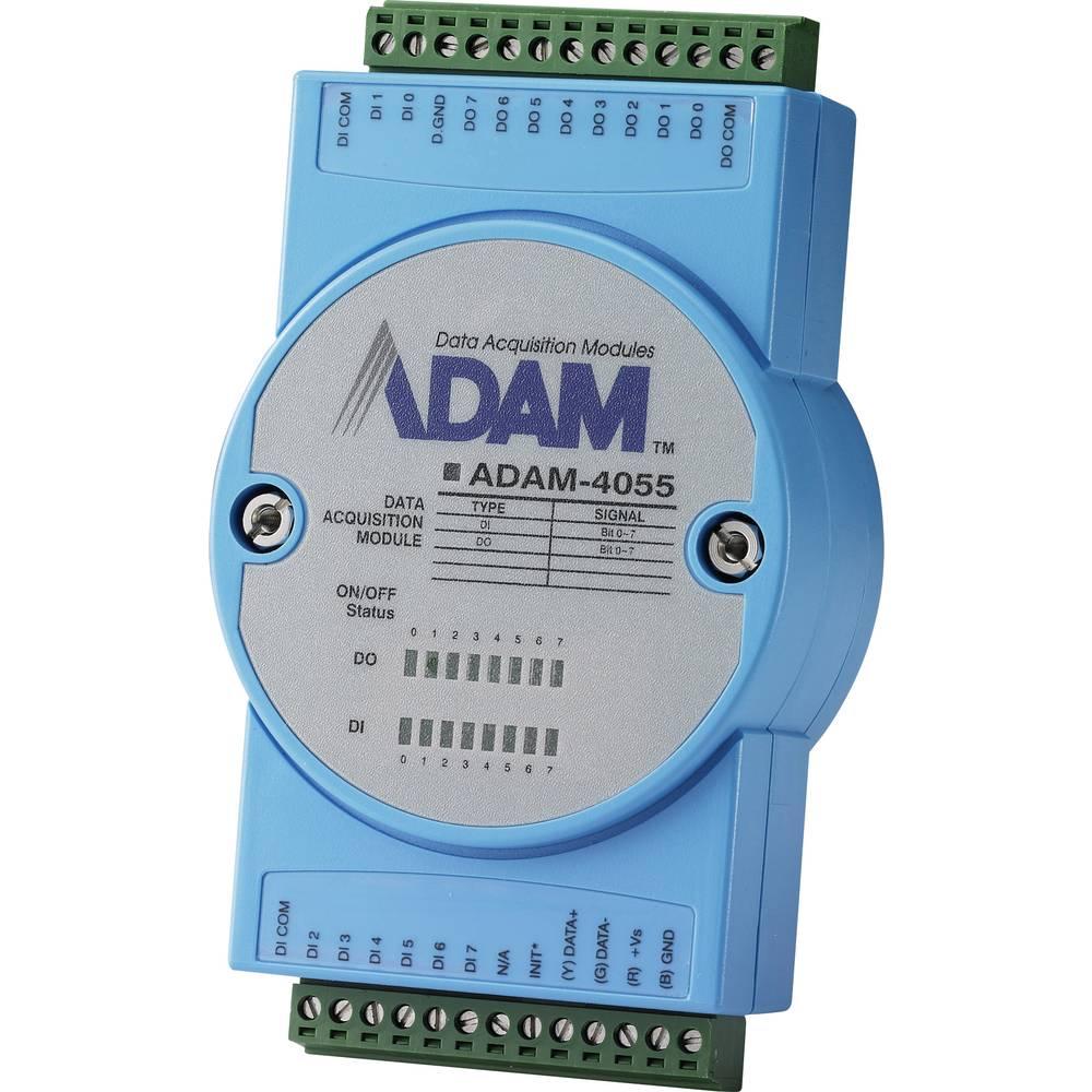 Izolirani digitalni 16-kanalni-E/A modul s Modbusom ADAM-4055 Advantech radni napon 10 - 30 V/DC