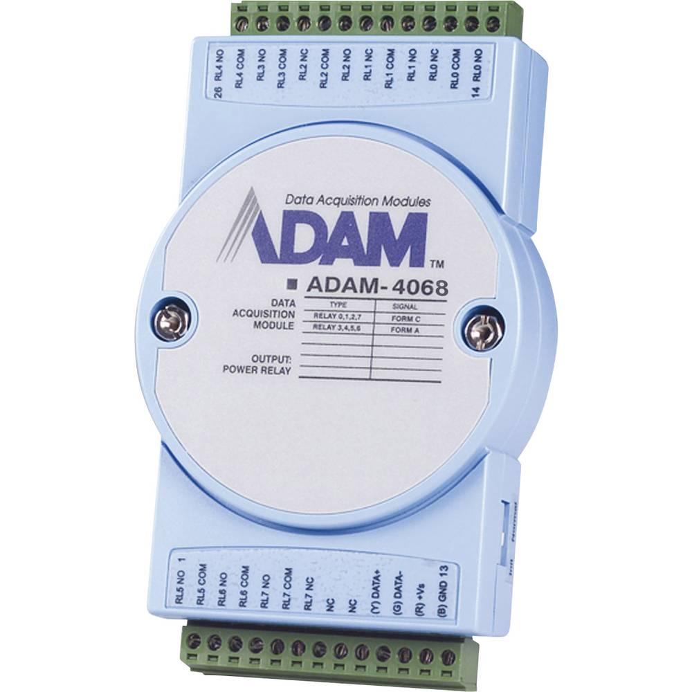 8-kanalni relejni izlazni modul s Modbusom ADAM-4068 Advantech radni napon 10 - 30 V/DC
