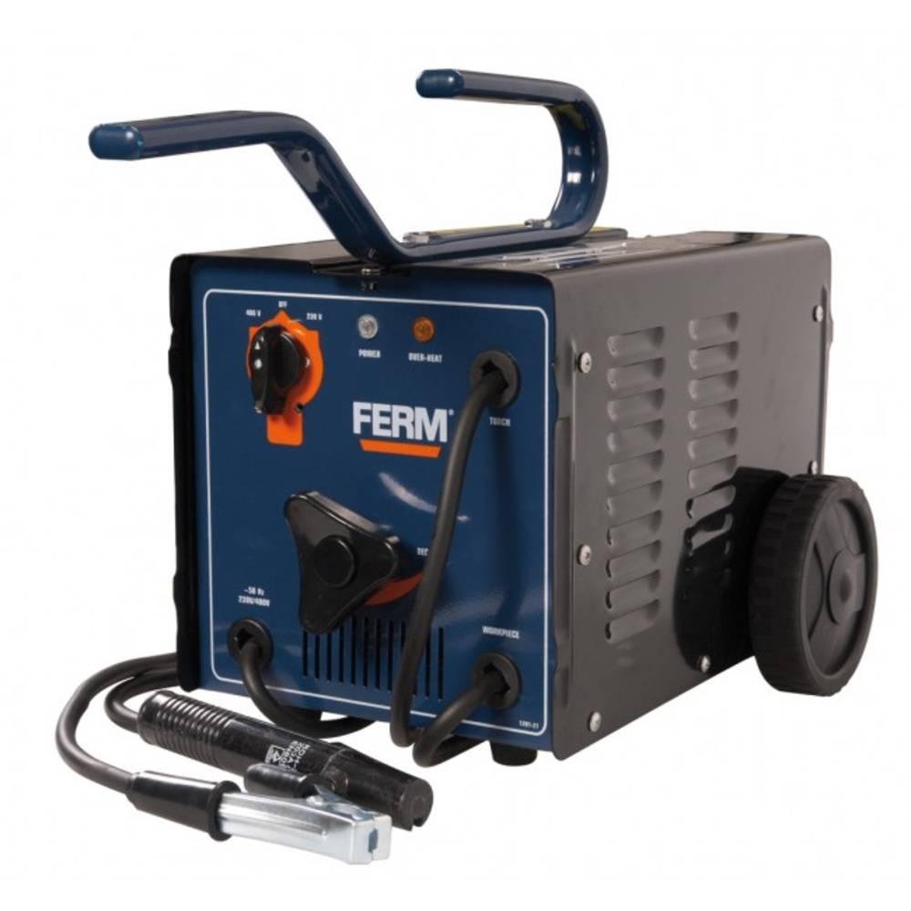 Električni zavarivač Ferm WEM1035 radni napon 230 V/400 V struja varenja (230/400 V) 55 - 140/55 - 160 A promjer elektrode 2 - 4