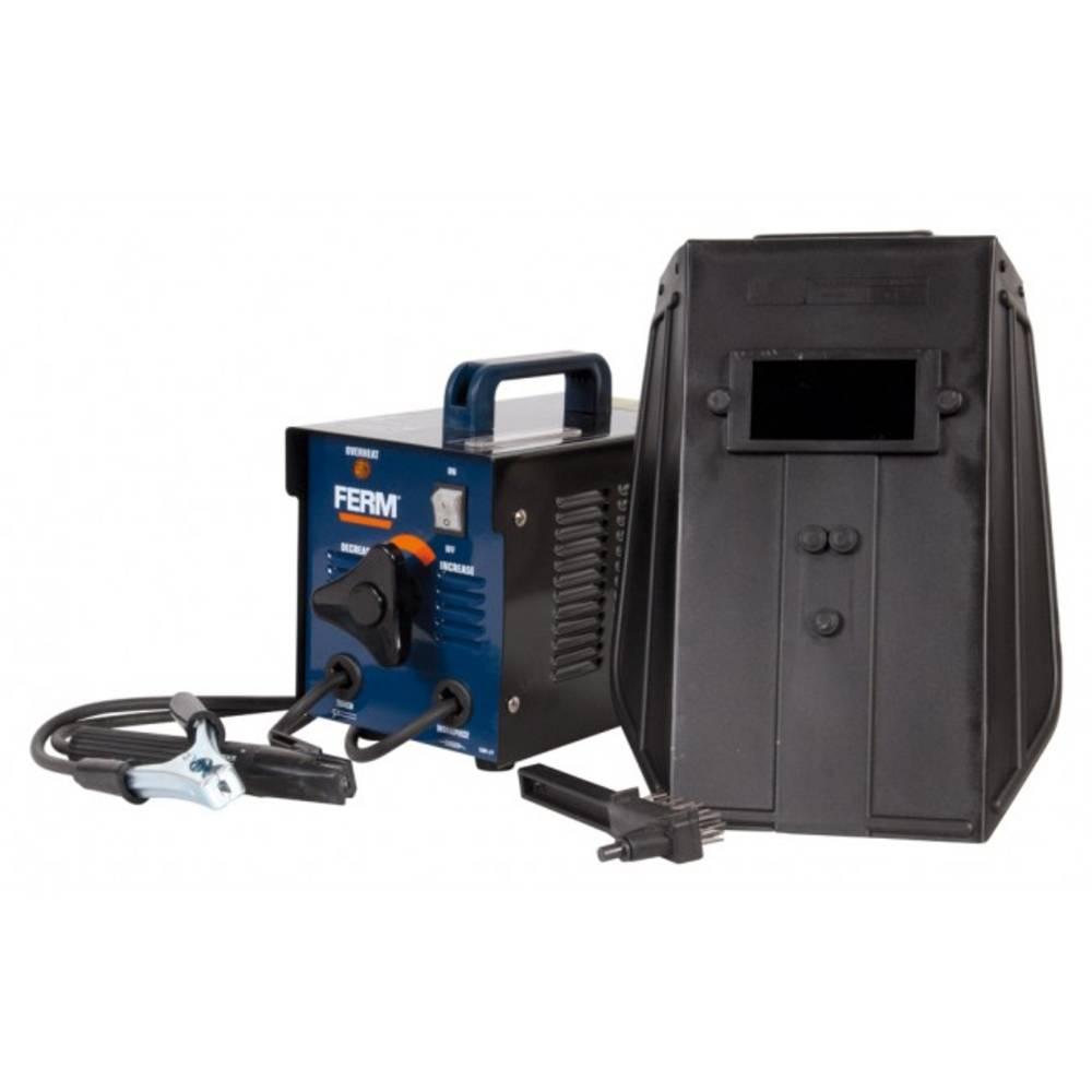 Električni zavarivač Ferm WEM1042 radni napon 230 V/50 Hz struja varenja 40 - 100 A promjer elektrode 1.6 - 2.5 mm