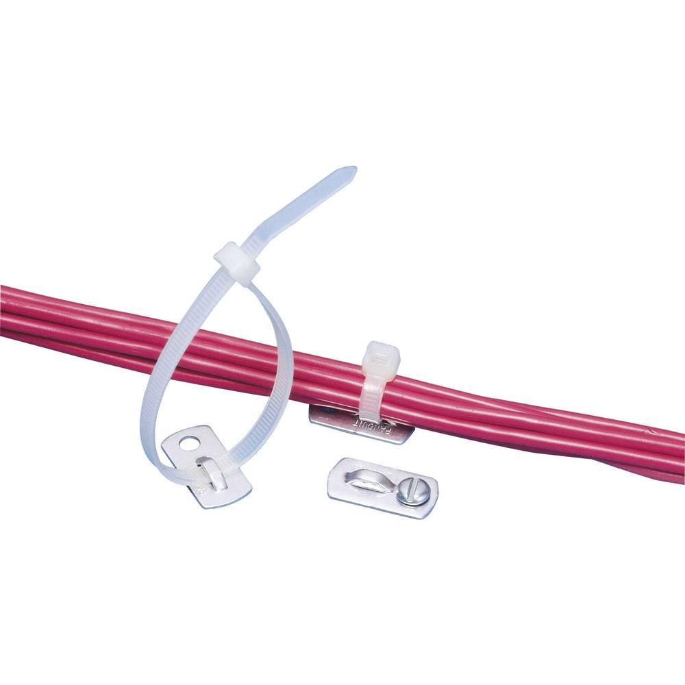 Aluminijski držač kabelskih vezica, pričvršćuje se vijkom MBMS-S10-MY sadržaj: 1 komad