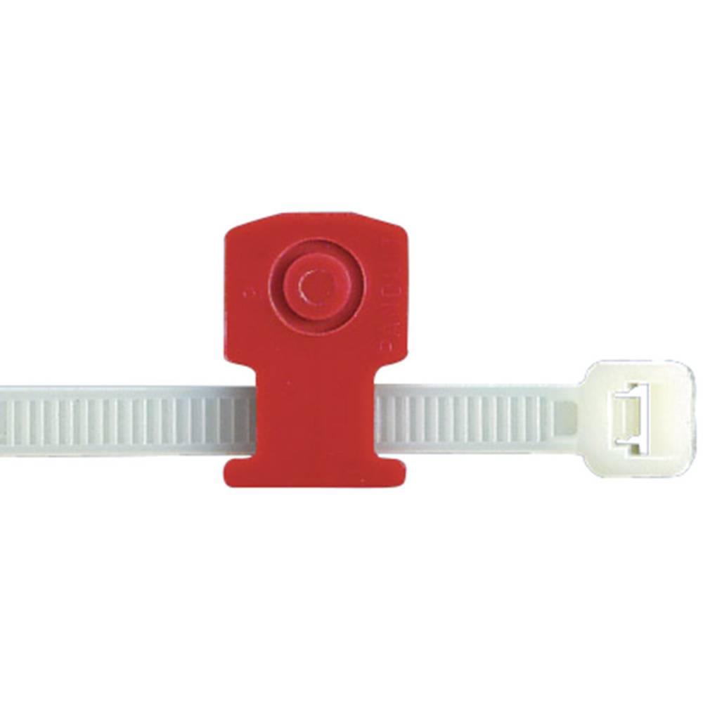 Utični držač kabelskih vezica s drukerom Panduit KIMS-H366-C2 crvena sadržaj: 1 komad
