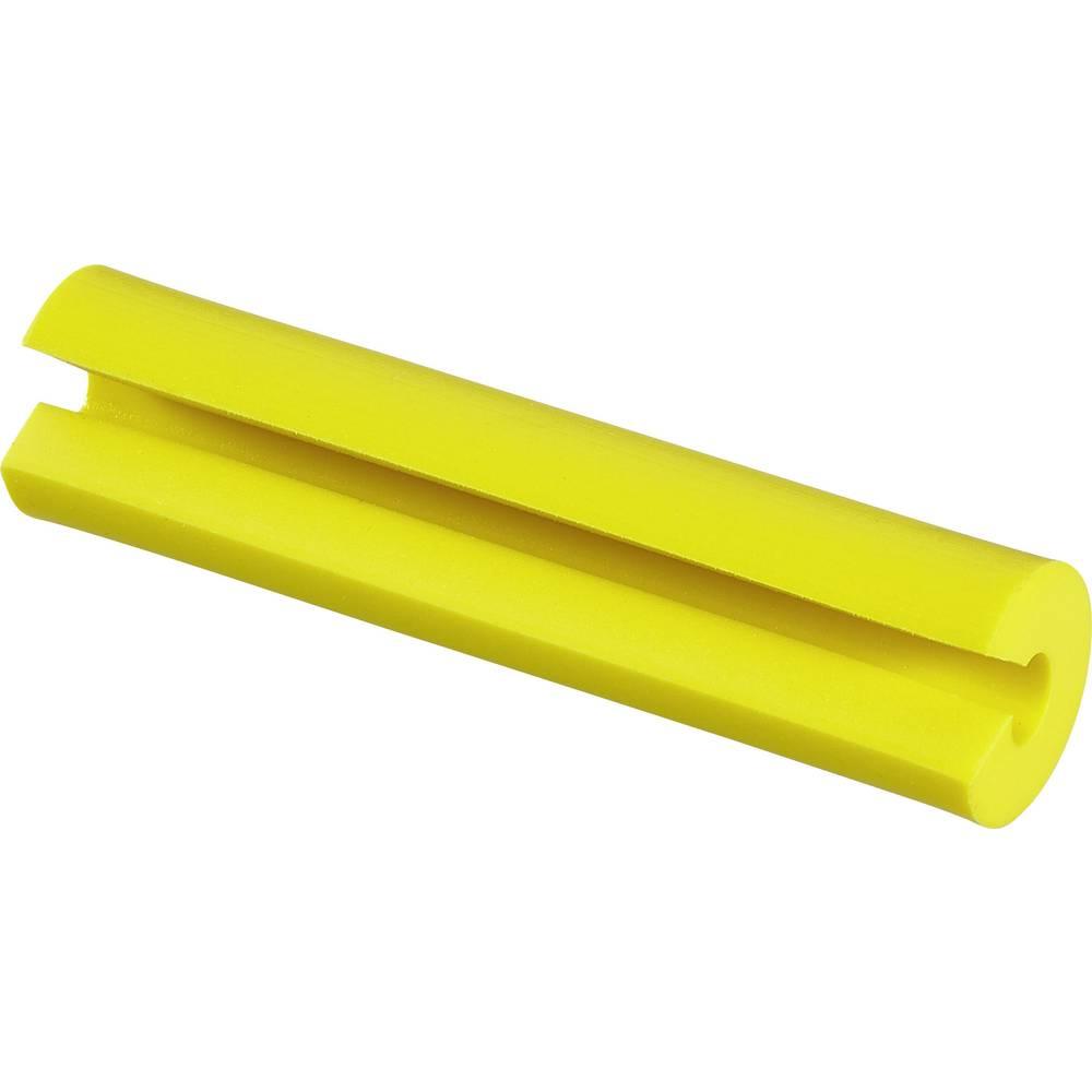 Označevalnik za kable, pritrditev s pripenjanjem, Passend za Simplex Kabel 2 mm rumene barve Panduit NWSLC-2Y 1 kos