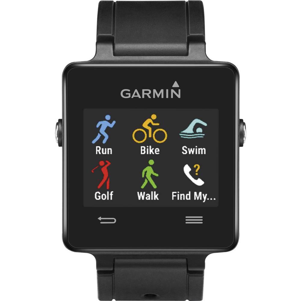 GPS ura z merilnikom srčnega utripa brez priloženega prsnega traku Garmin vivoactive™ Bluetooth, črna