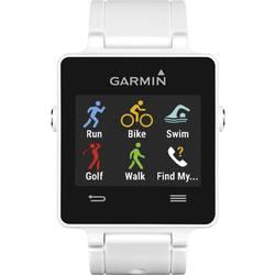 GPS sat za mjerenje pulsa bez prsnog pojasa vivoactive™ Garmin pametni sat bluetooth bijela