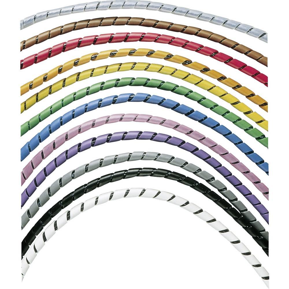 Spiralna cijev za kablove Panduit promjer snopa: 4.8 - 50.4 mm prirodna boja T25F-C sadržaj: 30.5 m