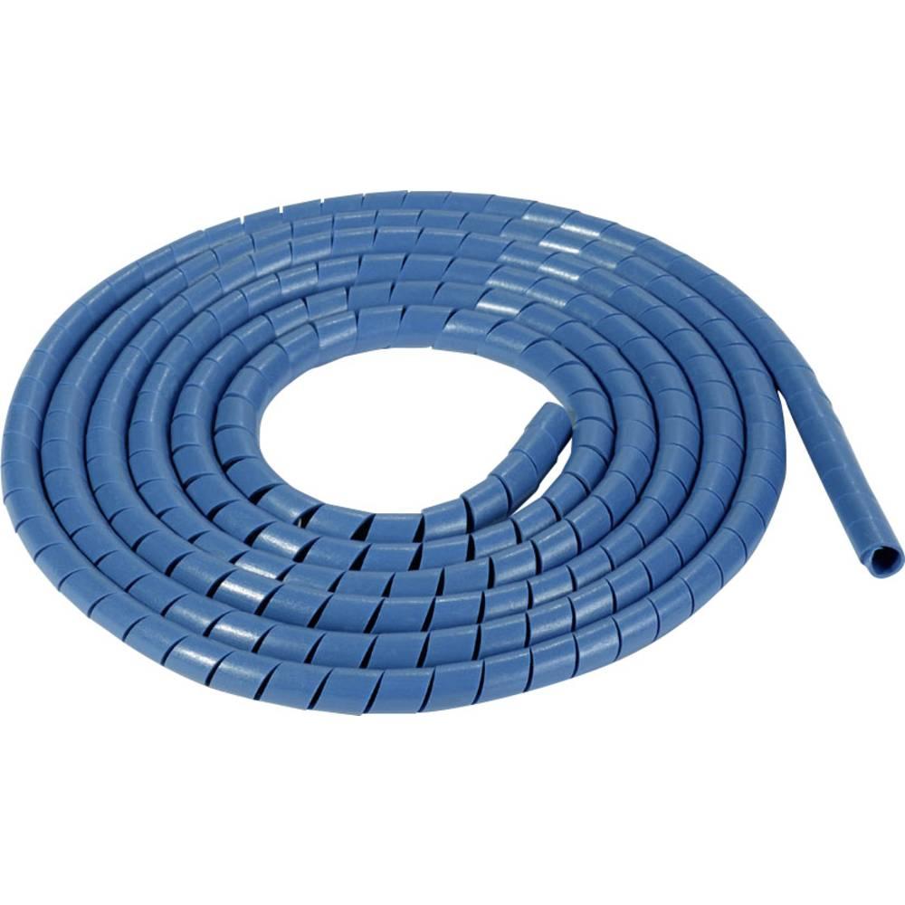 Spiralna cijev za kablove SBPEMC16-PE-BU-30M HellermannTyton vidljiva standardnim detektorima metala promjer snopa:: 20 - 150 mm