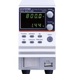 Laboratorijski uređaj za napajanje PSW 800-2.88 GW Instek, namjestiv 0 - 800 V/DC 0 - 2.88 A 720 W broj izlaza 1