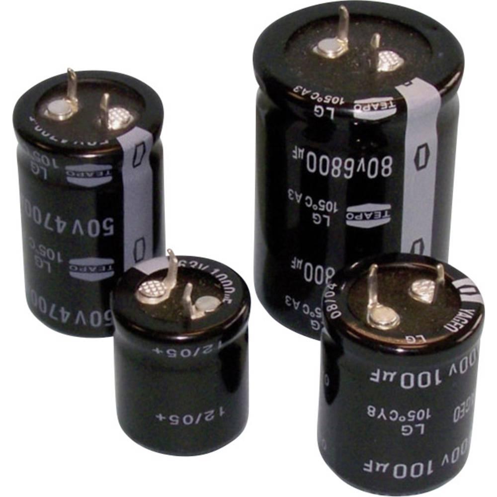 Elektrolitski kondenzator SnapIn 6800 µF 35 V 20 % (promjer x V) 22 mm x 40 mm SLG688M035S1A5Q40K 1 kom.