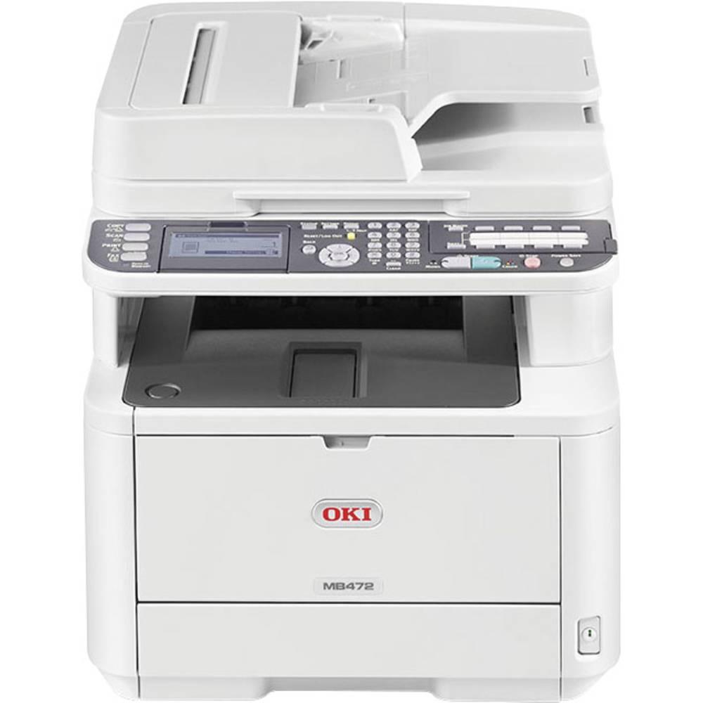 OKI MB472dnw Laserski multifunkcionalni tiskalnik A4 Tiskalnik, Skener, Kopirni stroj, Faks LAN, WLAN, Duplex, ADF