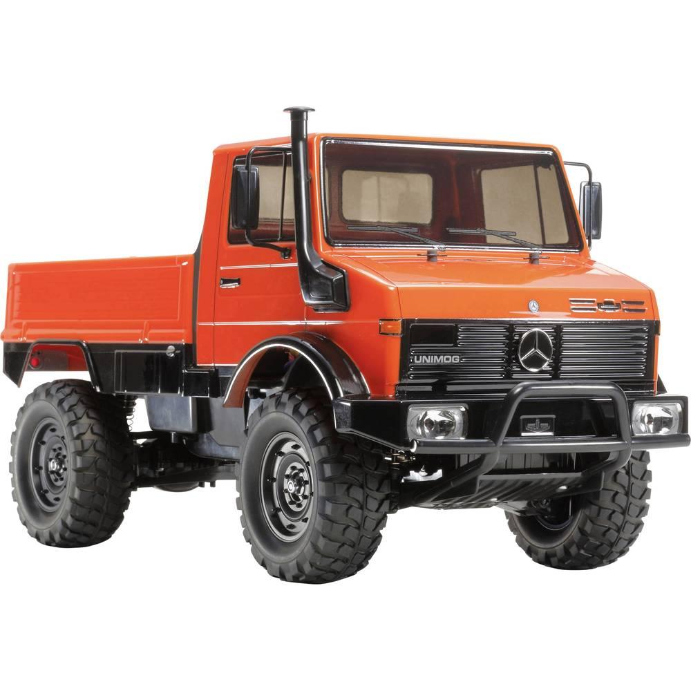 Tamiya Unimog 425 s ščetkami 1:10 RC Modeli avtomobilov Elektro Terensko vozilo Pogon na vsa kolesa (4WD) Komplet za sestavljanj